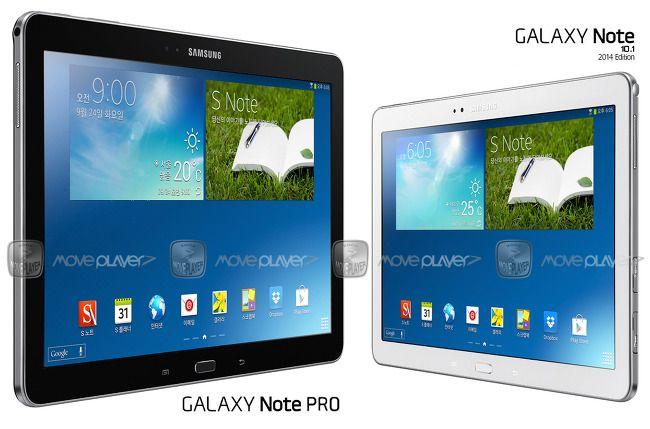 Samsung Galaxy Note Pro – aspect si atingere