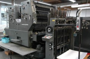 Buying and selling used offset printing equipment