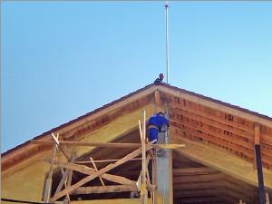 Cum stabilim montarea unui paratrasnet la o constructie?