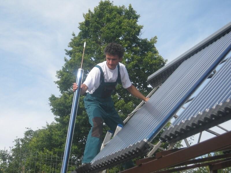 Ce sunt panourile solare termice nepresurizate?