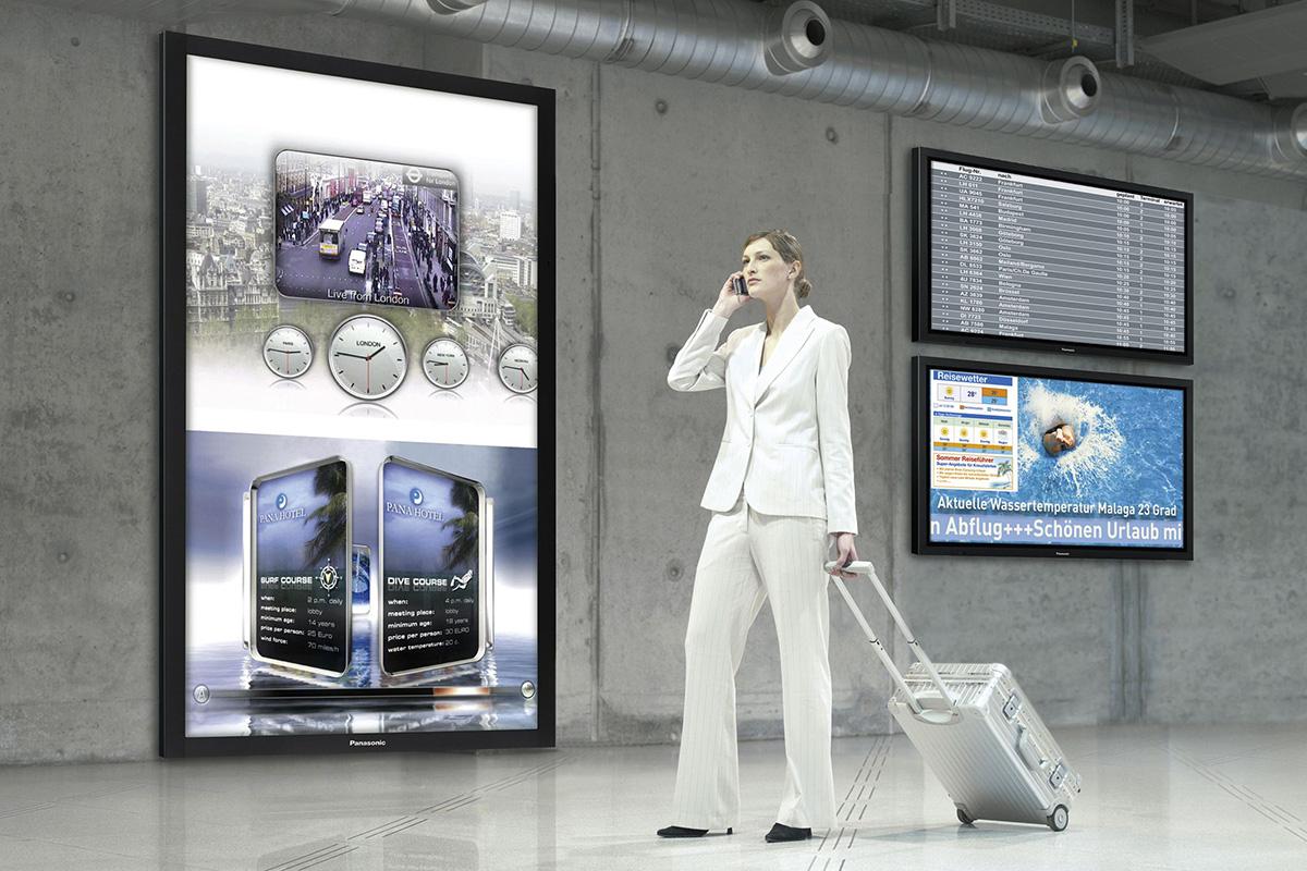 Beneficiile afisajelor digitale pentru publicitate