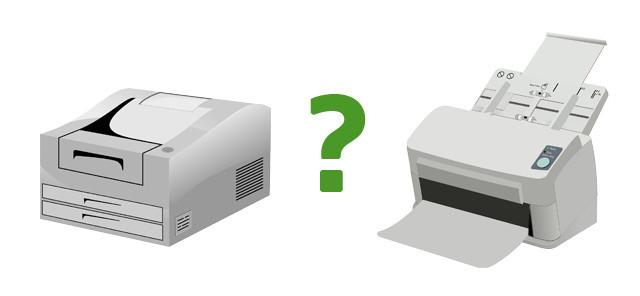 Ce diferente exista intre imprimanta laser si imprimanta cu jet de cerneala?