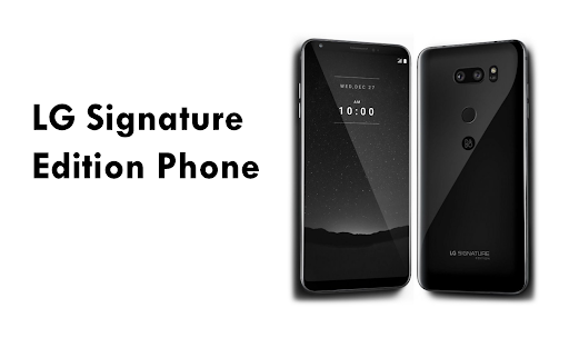 Ce specificatii are telefonul LG Signature Edition?