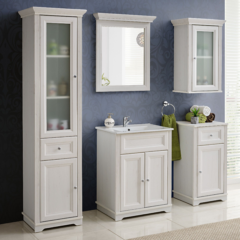 Dulap de baie clasic pentru baia ta modern?